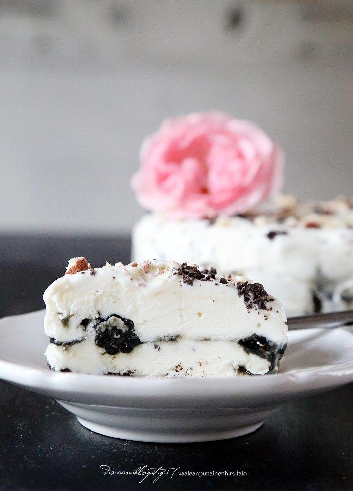 ice cream cake with licorice