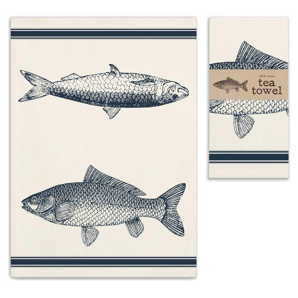 Fish Tea Towel (With images) Tea towel set, Tea towels