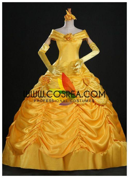 3abb8b294e Cosrea Disney Beauty And Beast Belle Disney Park Cosplay Costume via Cosrea