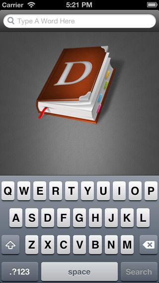 Simple Dictionary for ESL/EFL students App, Iphone, App