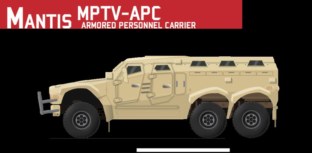 Mantis MPTV-APC Variant by Afterskies on DeviantArt