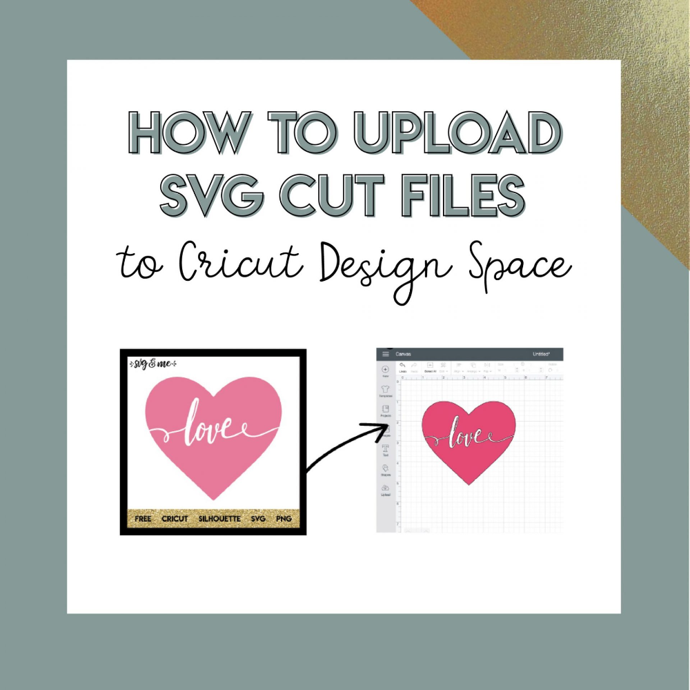 How to Upload a SVG to Cricut Design Space Cricut