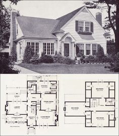 1920s Vintage Home Plans The Collingwood Standard Homes Company