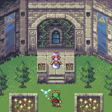 Legend Of Zelda Ocarina Of Time Pixel Art Young Link