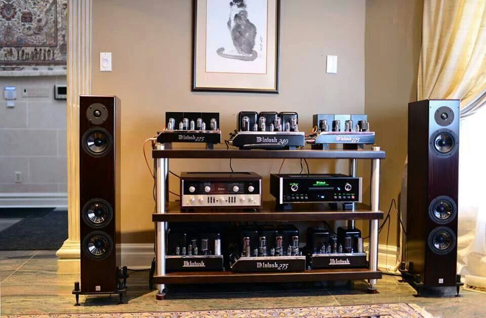 MAC Tube Setup... High end audio audiophile | Home Audio ...