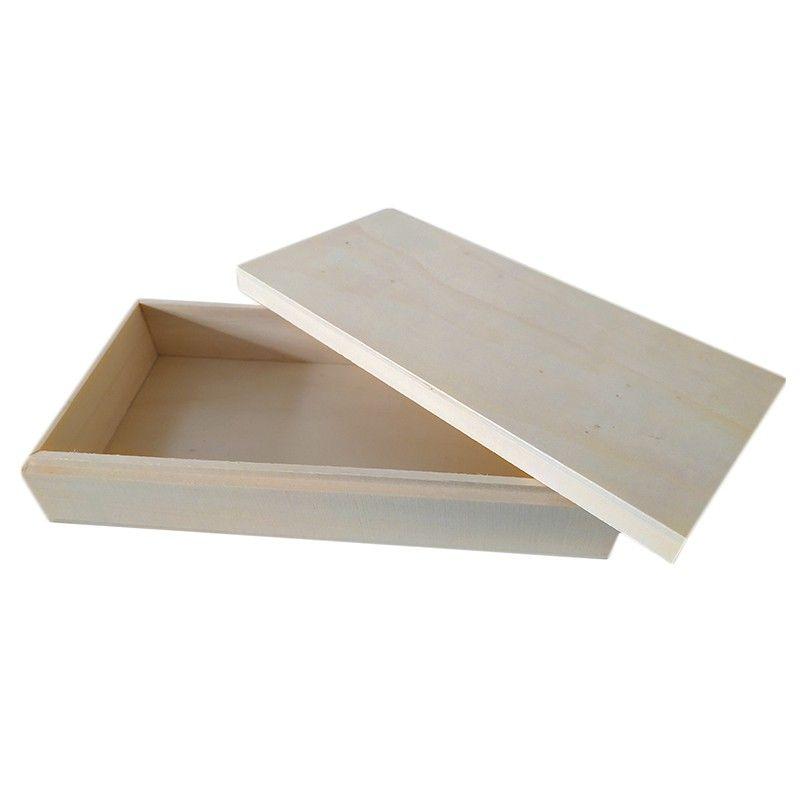 Cajita de madera sin barnizar