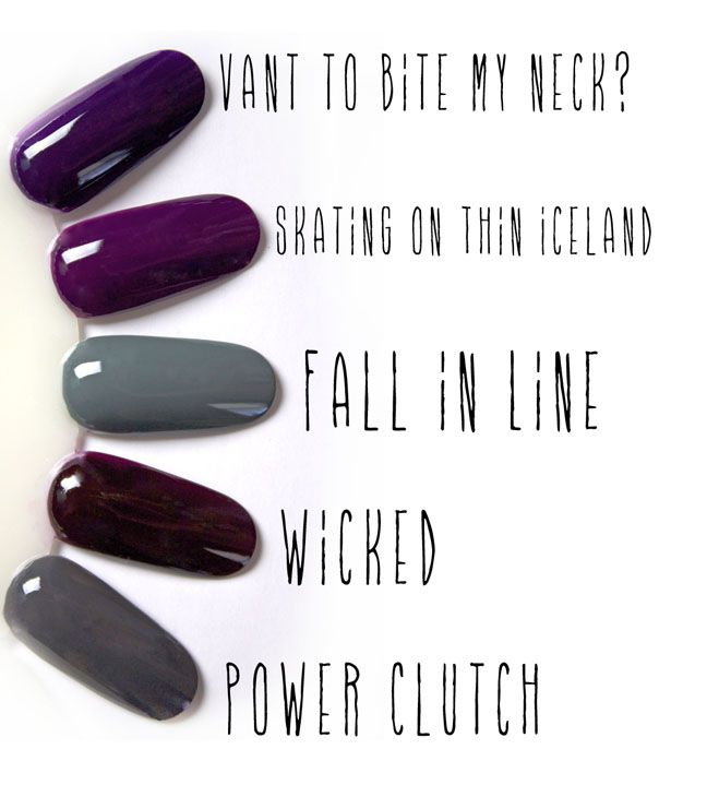 Fall Nail Colors 2014 | Fall nail colors, Make up and Nail nail