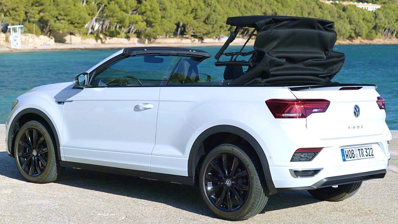 2021 Volkswagen T Roc Convertible R Line Interior Exterior Drive In 2020 Volkswagen Cabriolets Nitro Rc Cars