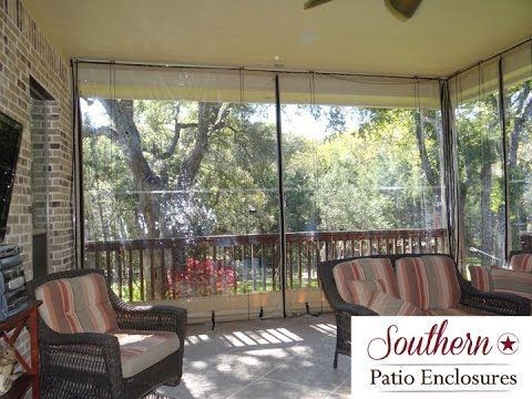 How 2 Install Southern Patio Enclosures Clear Vinyl Drop Curtain System You