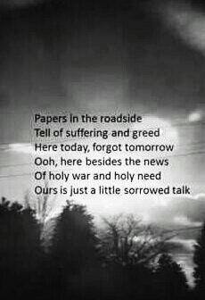 ordinary world song