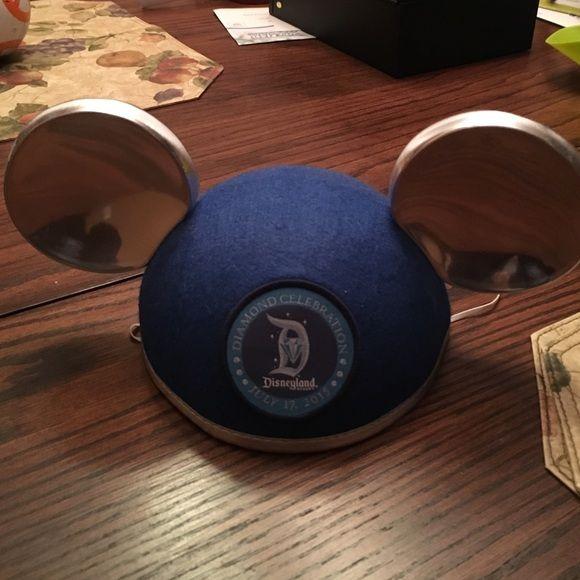 Diamond celebration Micky ears Diamond celebration Micky ears. Never worn! Disney Accessories Hats