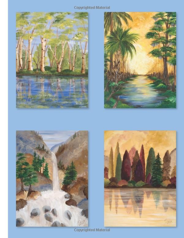 Fast Fun Landscape Painting With Donna Dewberry Donna Dewberry