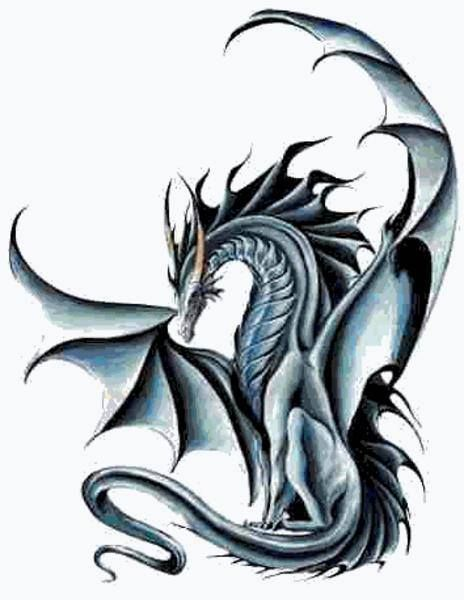 Cool Dragon Fantasy Dragon Black White Amazing Dragon Artwork Dragon Tattoo Dragon Tattoo Designs