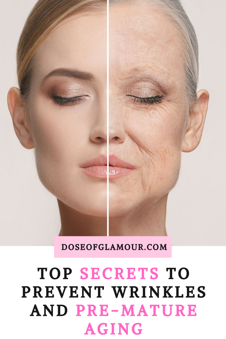 Top Secrets To Stay Youthful And Prevent Wrinkles Prevent Wrinkles Younger Skin Wrinkles