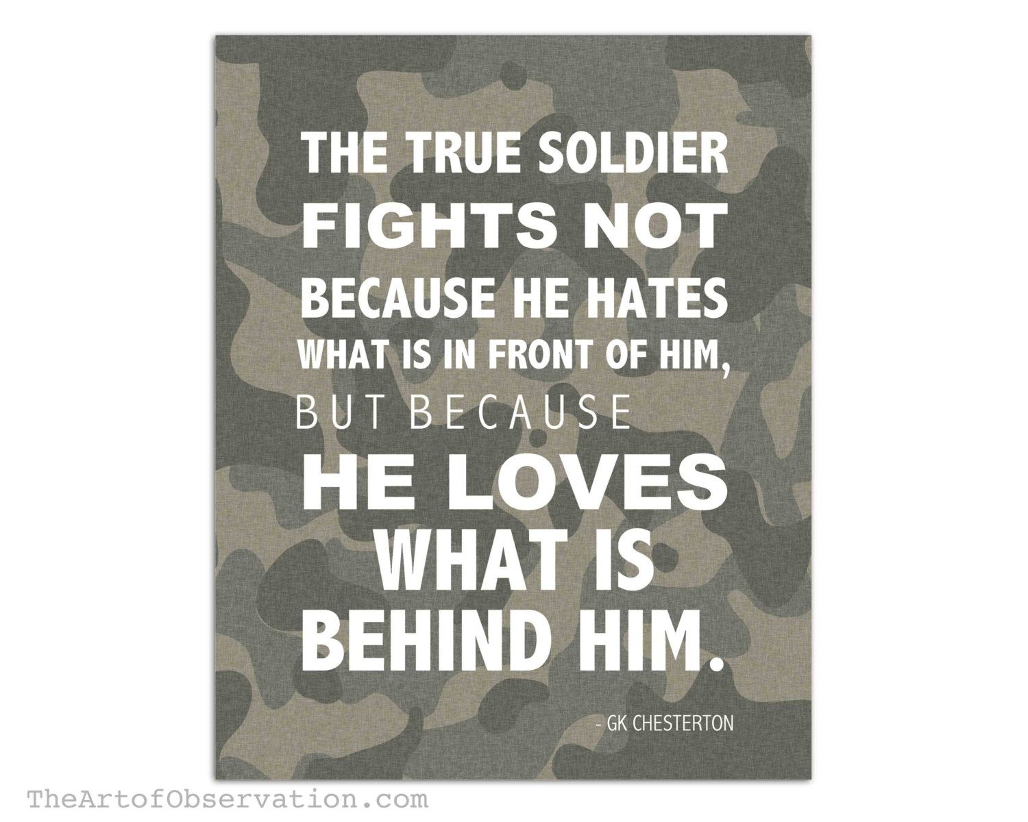 Military Motivational Quotes Pinterest Military Quotes  Popular Items For Soldier Love On Etsy