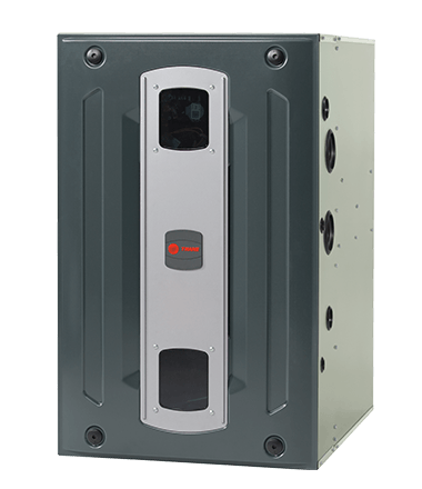 The New S9x2 Furnace Offers Two Stages Of Gas Heat For Comfort In Cold Weather And High Efficiency Ctm Blower For Effcient In Warm Trane Furnace Trane Furnace