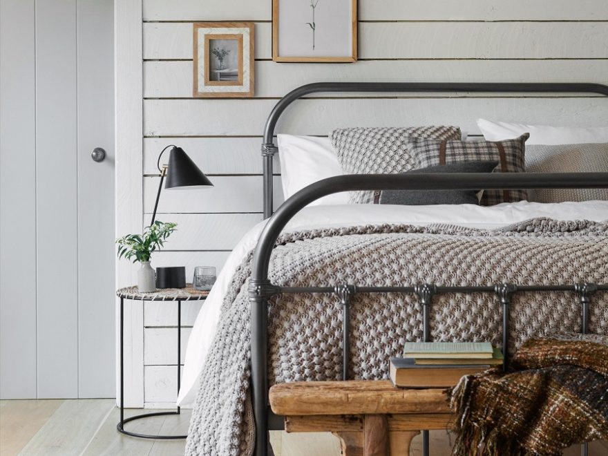 white iron bed bedroom ideas Google Search in 2020