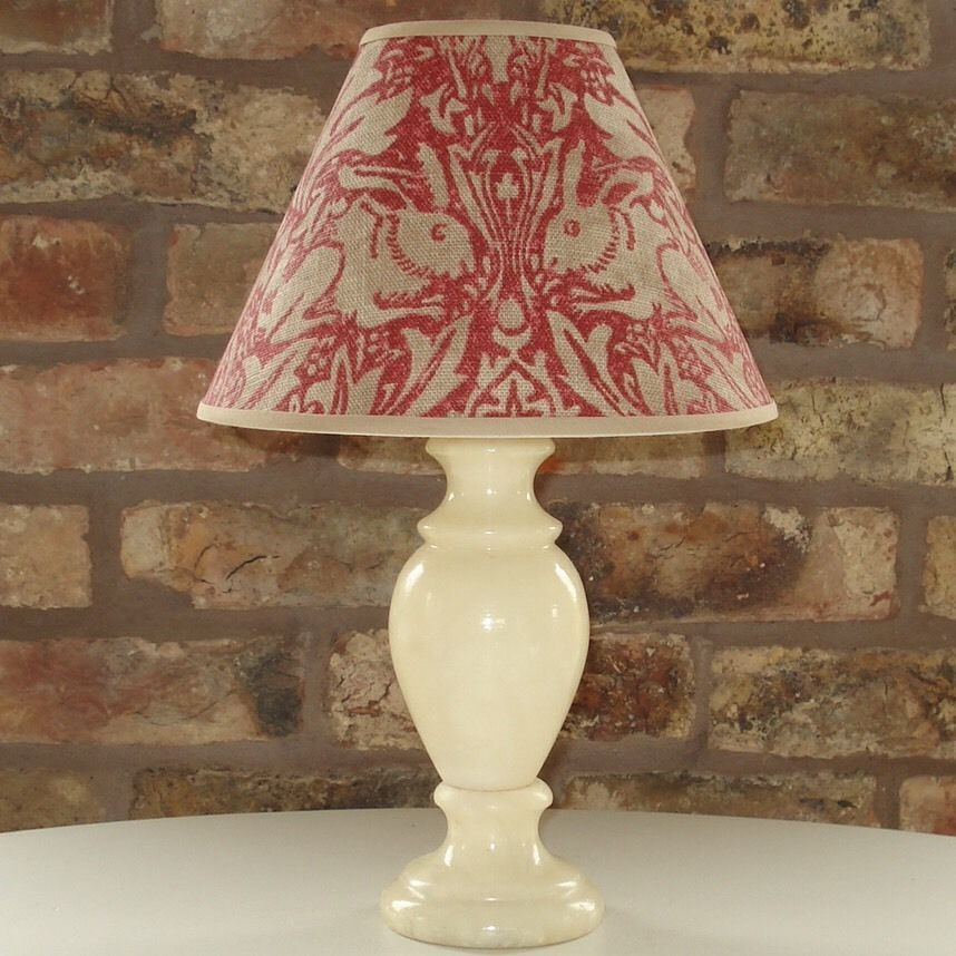 William morris brer rabbit handmade coolie lampshade