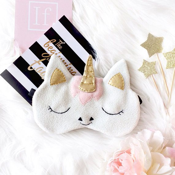 unicorn sleep mask eye mask sleep funny sleep mask. Black Bedroom Furniture Sets. Home Design Ideas