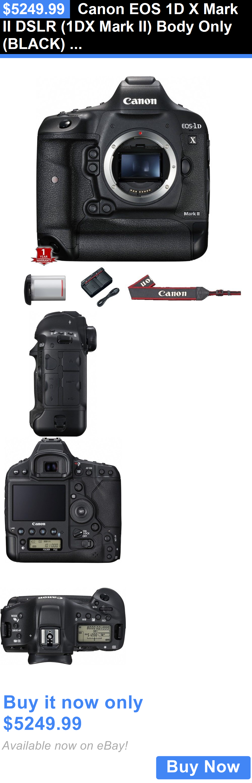 Photo And Video Canon Eos 1d X Mark Ii Dslr 1dx Mark Ii Body Only Black New Buy It Now Only 5249 9 Camera Photo Cameras And Accessories Digital Camera