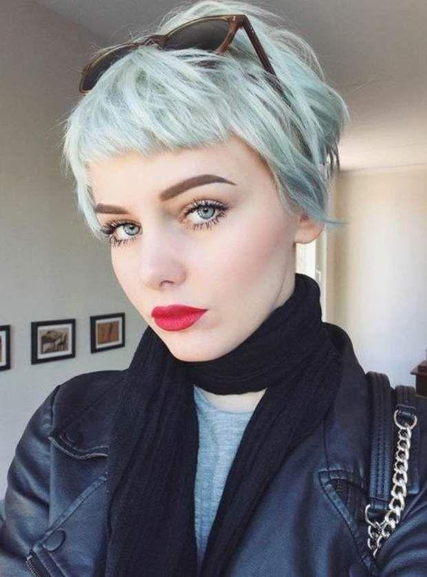 La frange courte grunge Cheveux courts