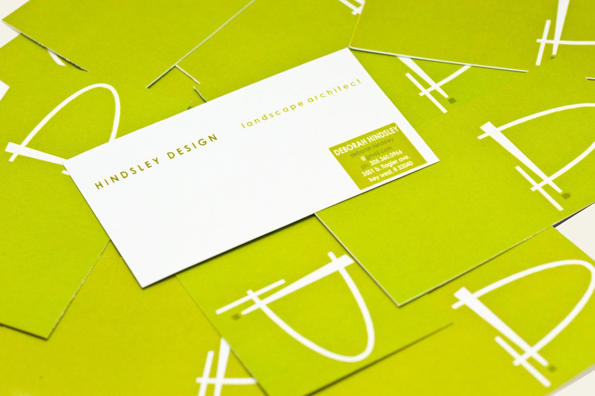 Landscape Architect Business Card Designing Duo