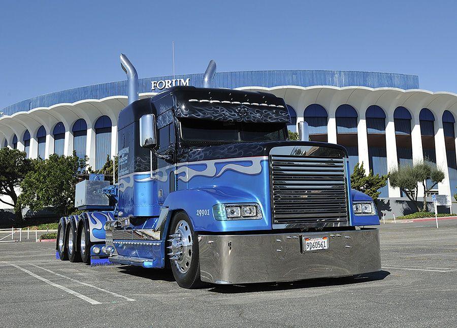 Unique Freightliner FLD #custom