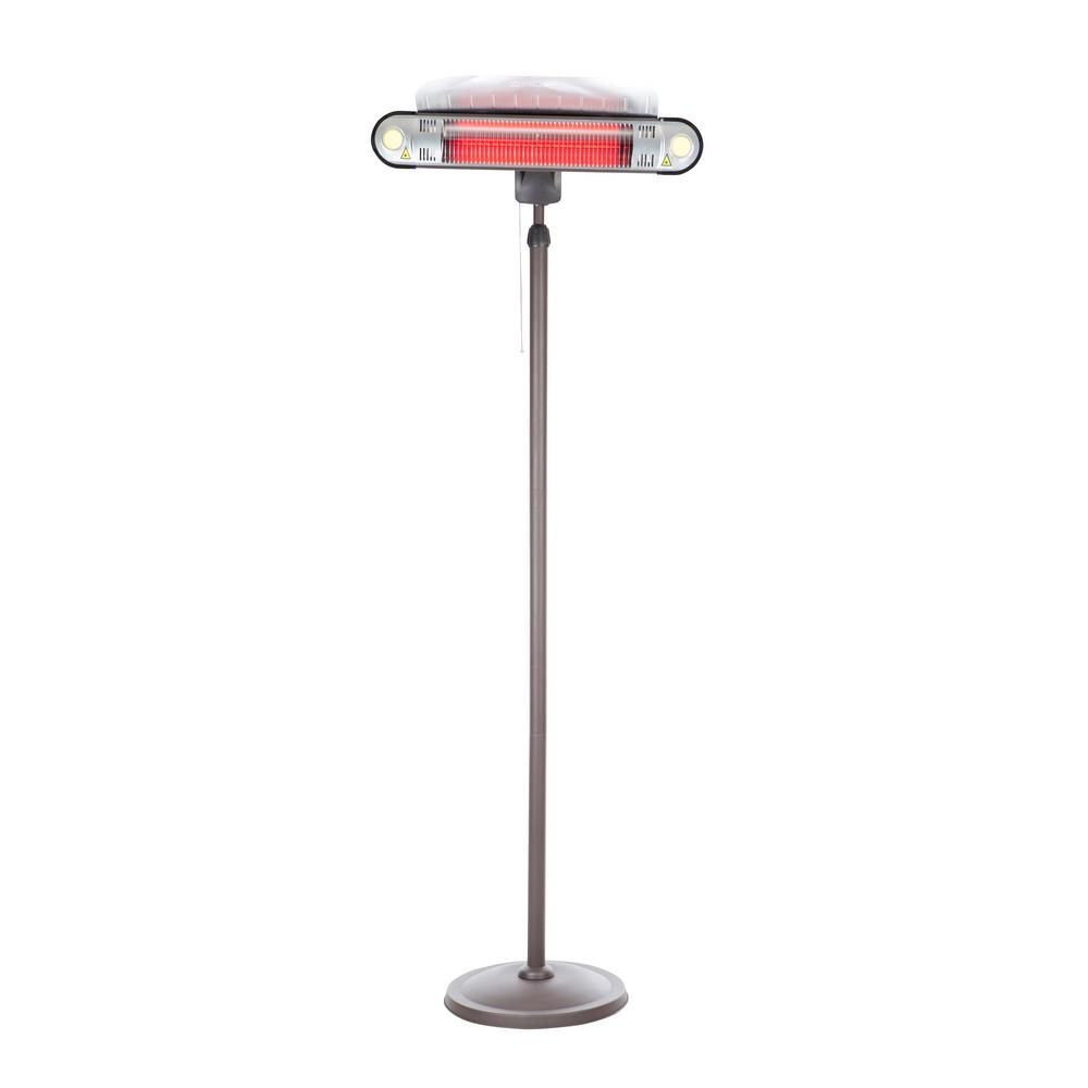 Fire sense watt alta floor standing halogen electric patio