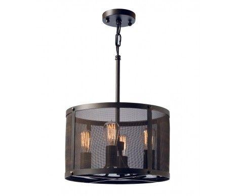 Escala 4 Light Pendant In Antique Black Pendant Lighting Industrial Pendant Lights Small Pendant Lights