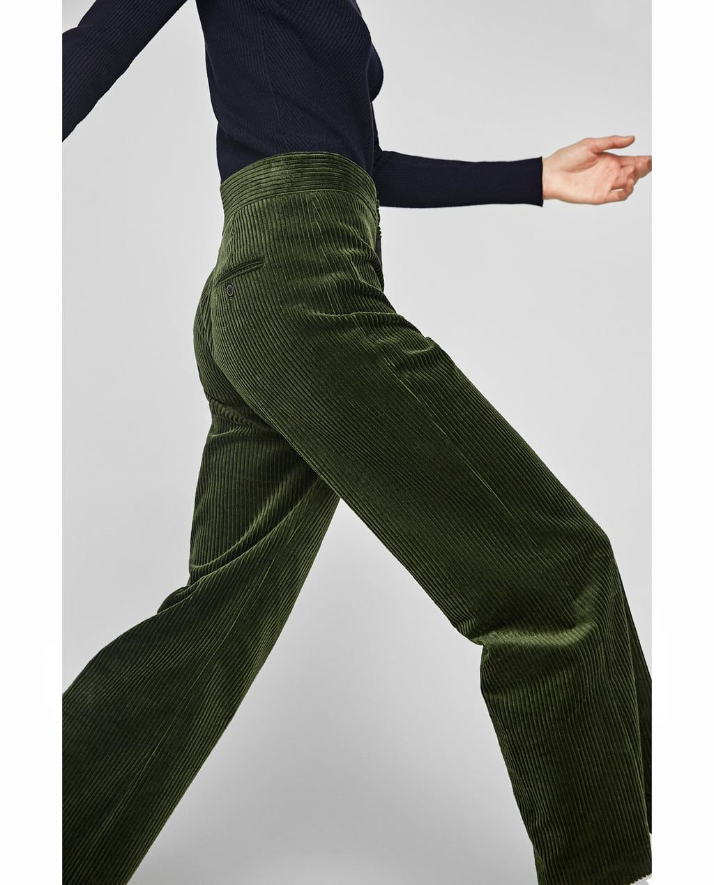 Thick Corduroy Trousers From Zara What To Wear Fallwinter