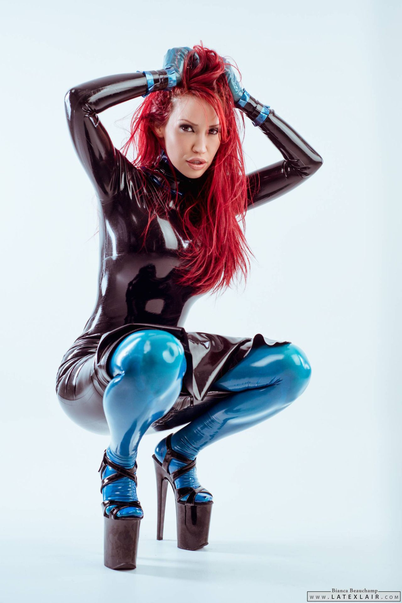 "morgane237: ""Bianca Beauchamp #Model #Fashion #Glamour #Sexy #Latex ..."