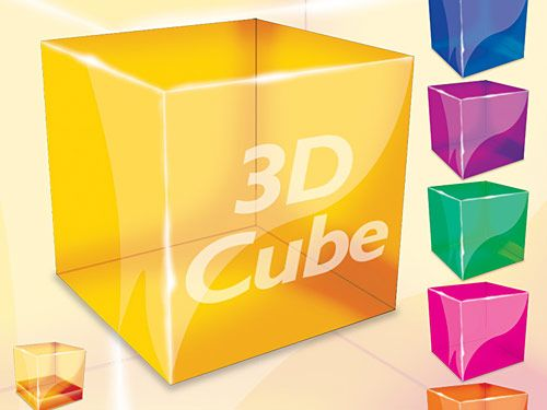 3d Cube Psd File Free 3d Cube Cube Cube Design