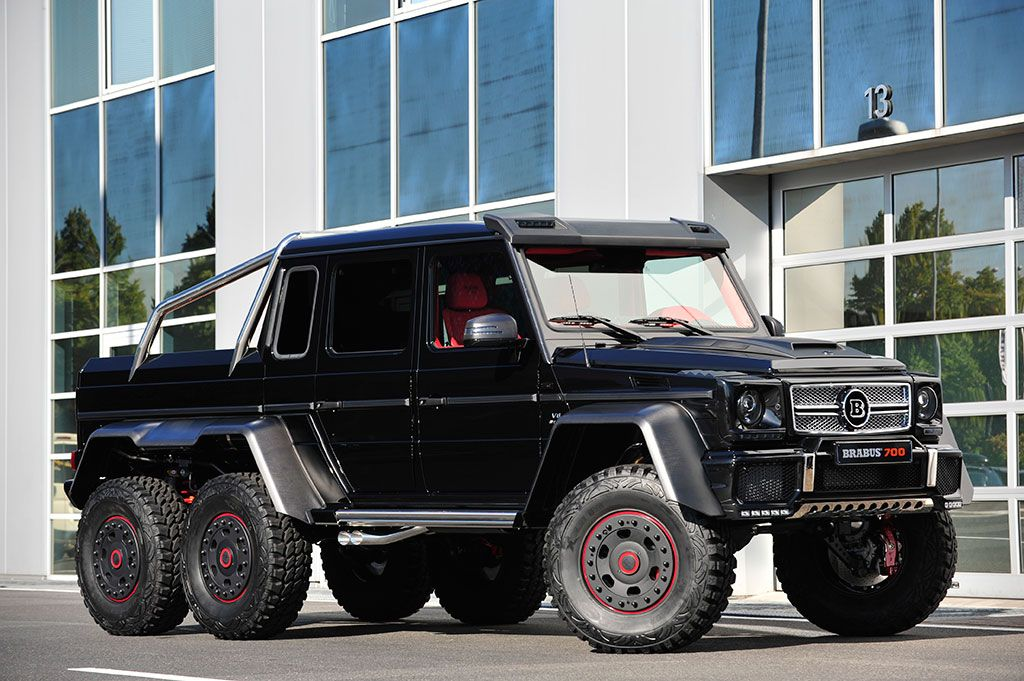 Brabus B63s 700 6x6 Mercedes Benz G63 Amg G Wagen Six Wheeler