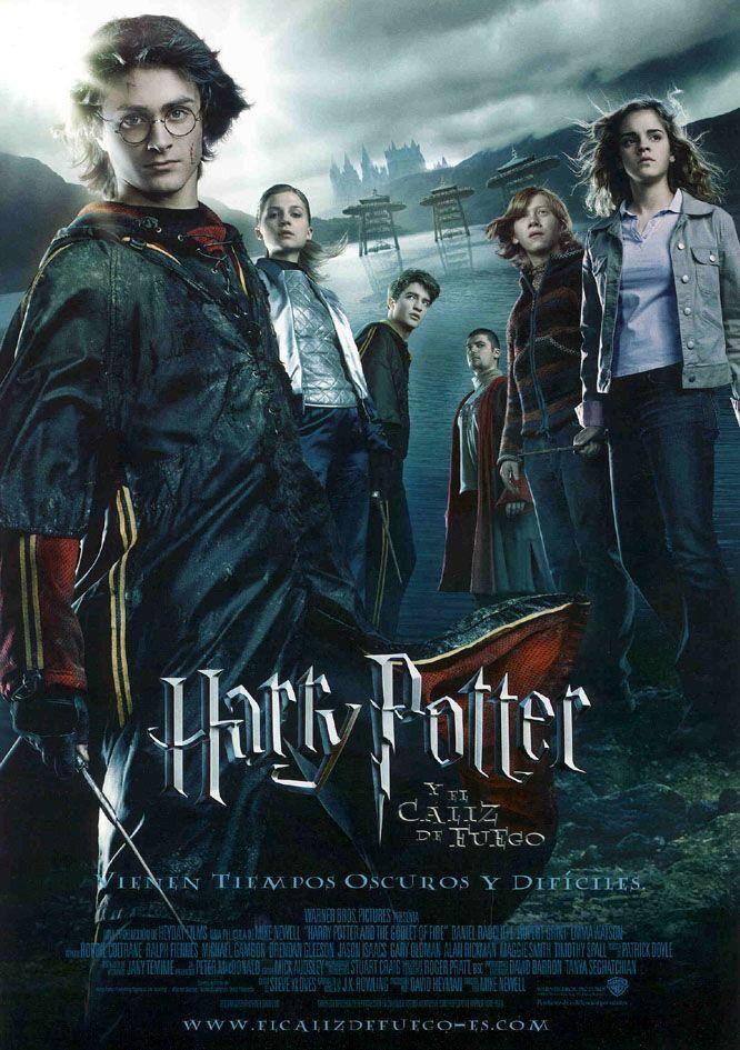 Harry Potter Y El Caliz De Fuego Peliculas De Harry Potter Caliz De Fuego Poster De Peliculas