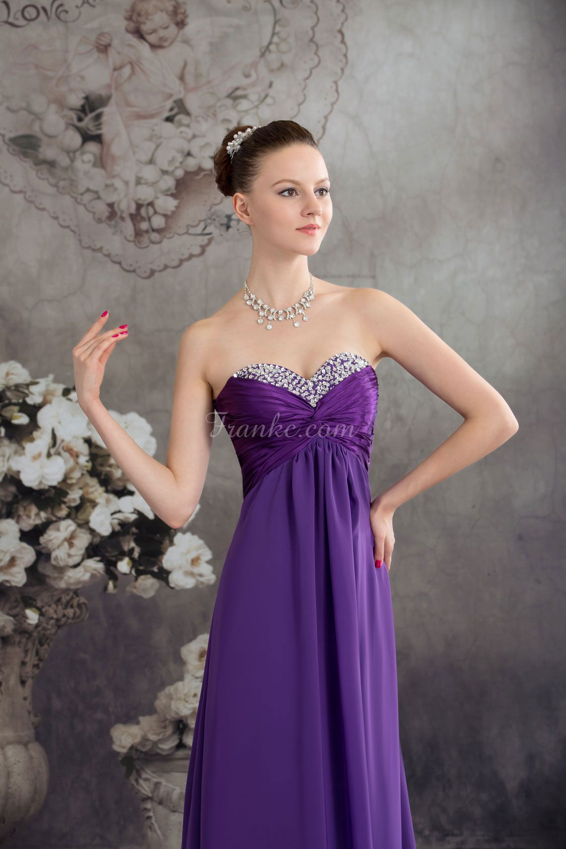 long sequins pleated sweetheart beaded empire lace-up prom dress ...