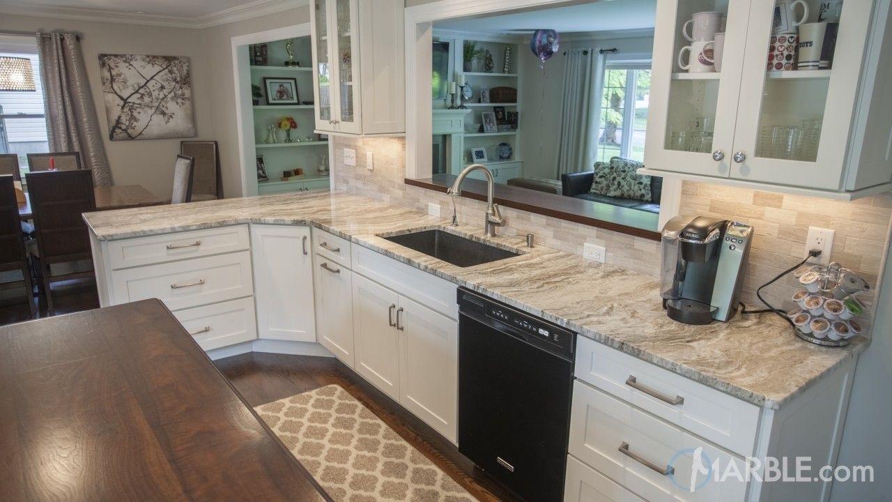 Best Fantasy Brown Quartzite Kitchen Countertop Kitchen 640 x 480