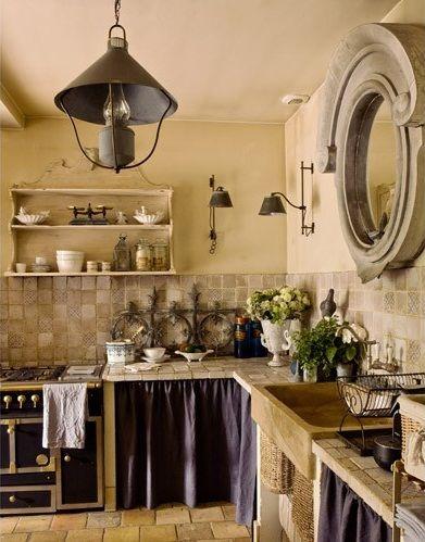 rideau-sous-plan-de-travail-cuisine.jpg (391×499) | herbreteau ... - Cuisiniste Plan De Campagne