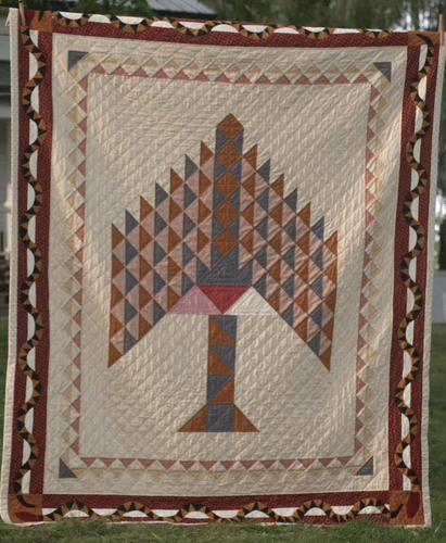 Tree Of Paradise Quilts Tree Quilt Antique Quilts