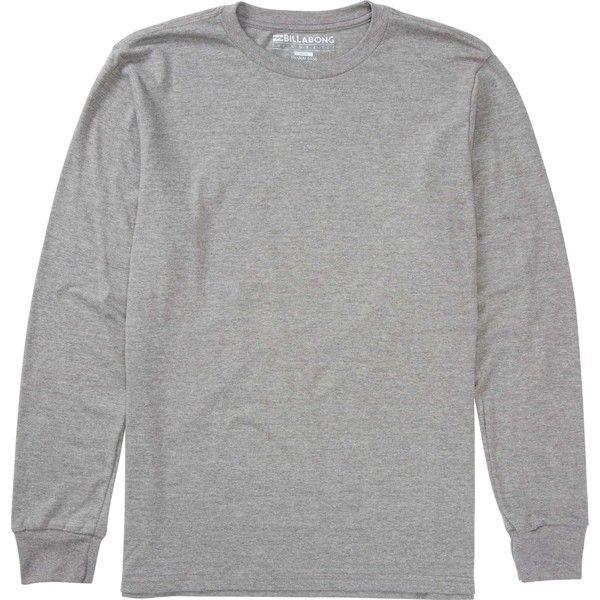 Billabong Unisex Essential Long Sleeve Tee 22 Liked On