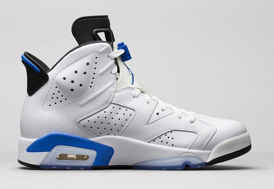 Air Jordan 6 Retro 'Sport Blue' - Release Date. Nike.