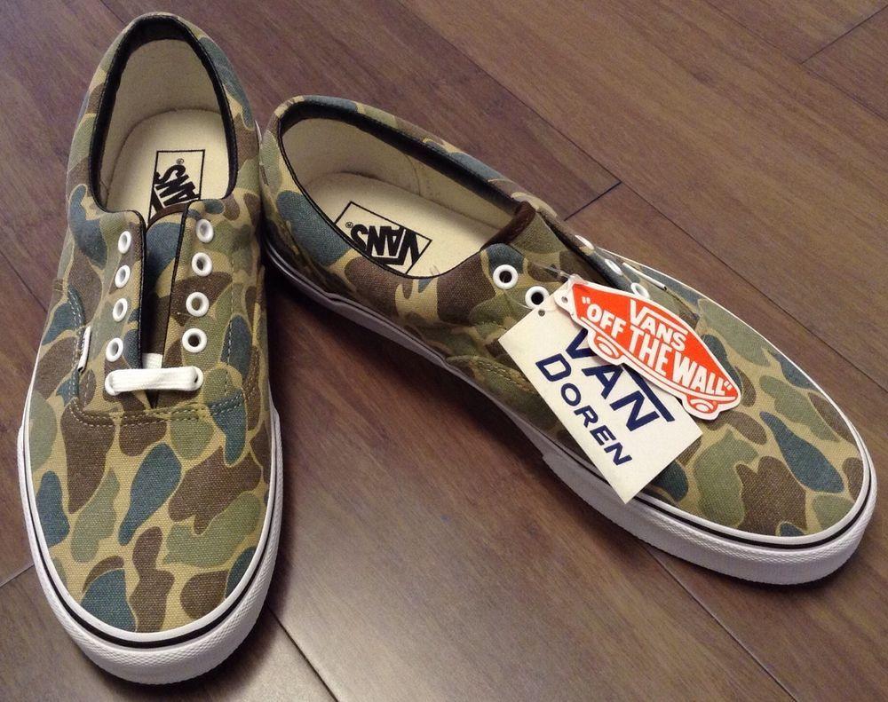 7980f1a52d483 Vans ERA Van Doren Camo Men's Skate Shoes Size 12 US #VANS #Skateboarding