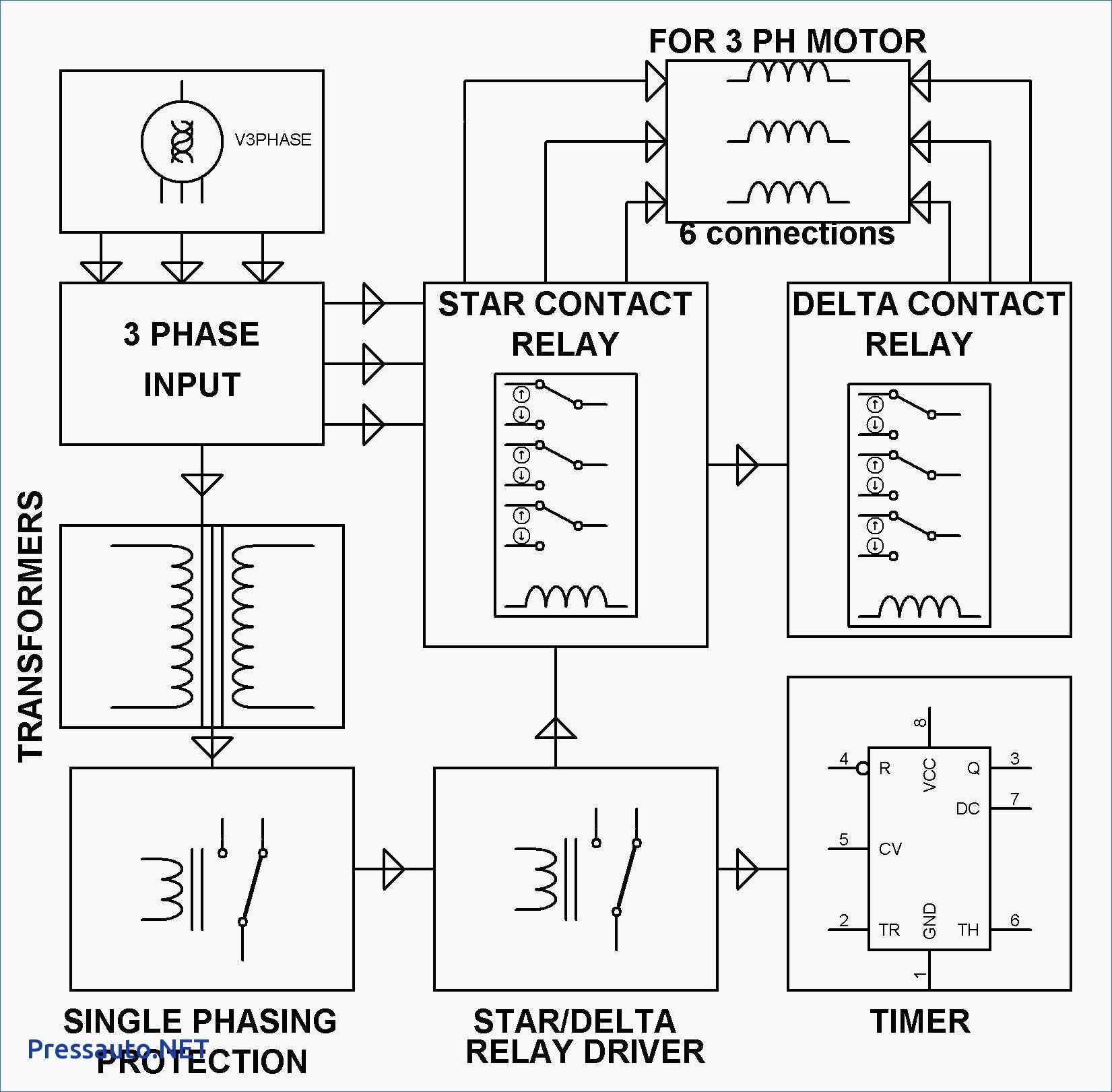 3 Phase 240v Motor Wiring Diagram Motor Electronics Basics Electrical Projects