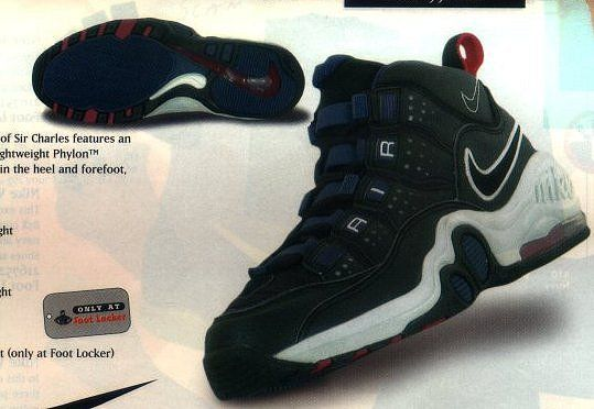 buy online f7e44 a71d0 nike basketball shoes from 1997  Nike Air Max Super CB Charles Barkley  Basketball Sneaker 1997