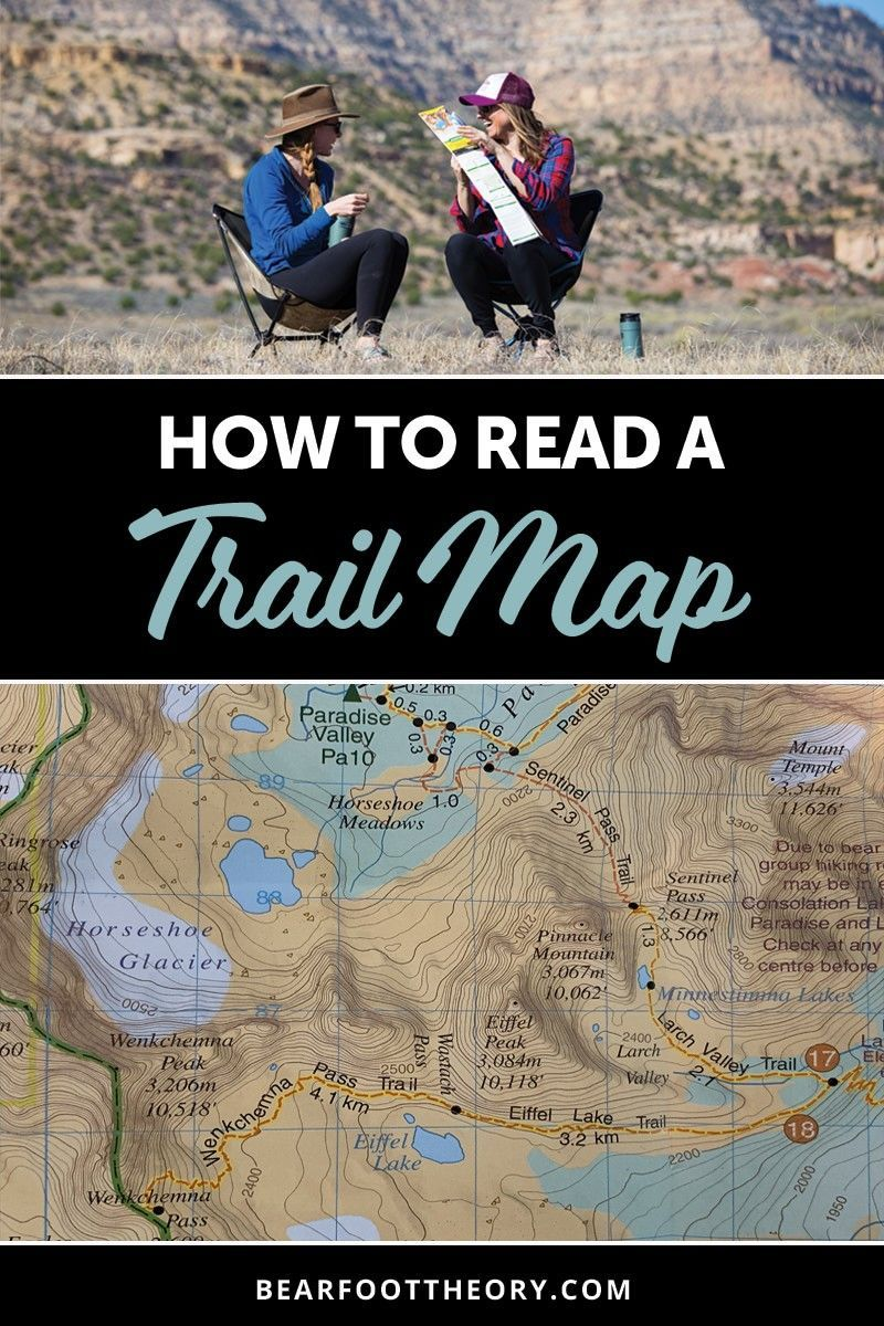 How to Read A Topographic Map – Bearfoot Theory