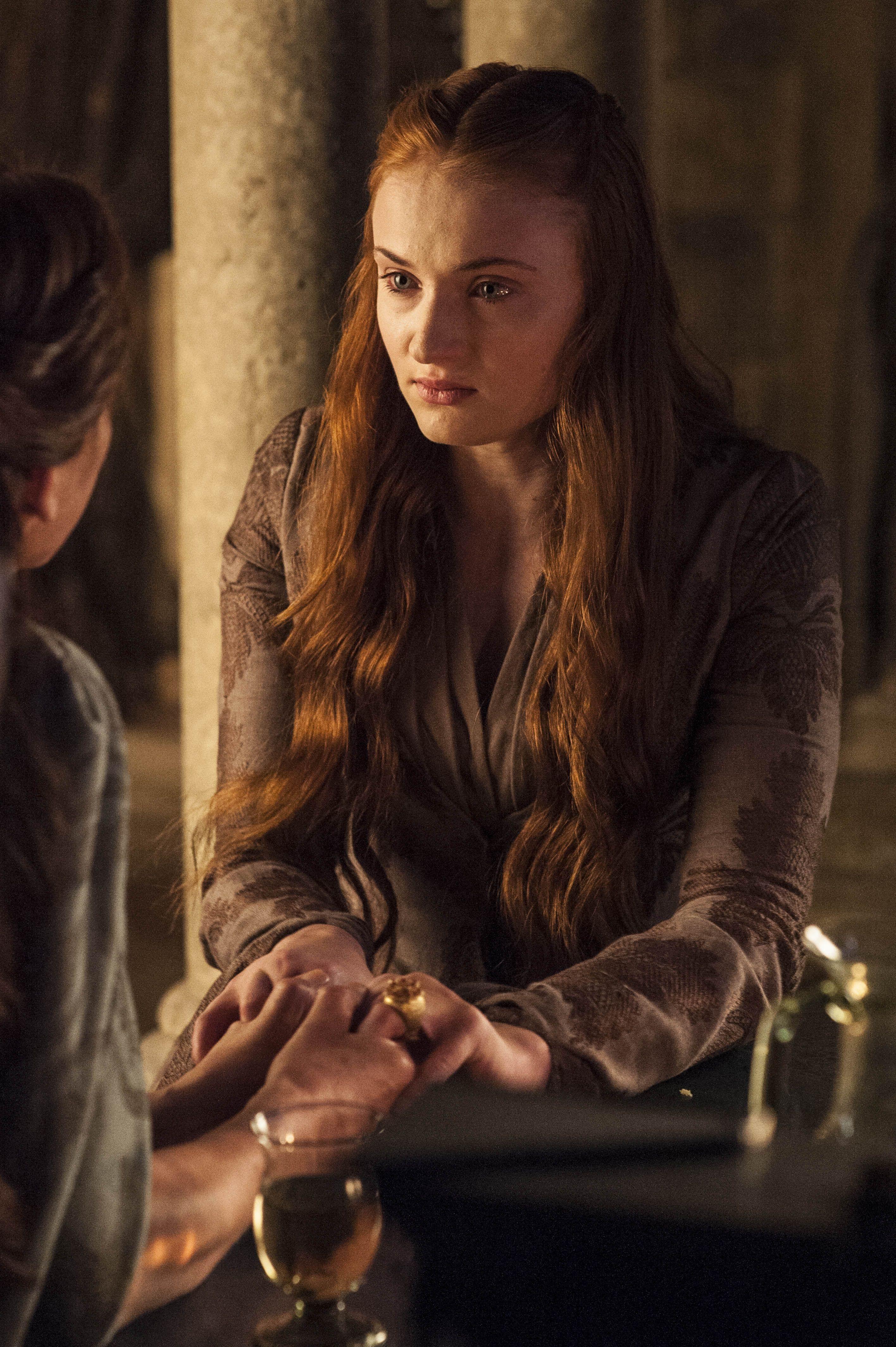 Season 4, Episode 5 First of His Name Sansa stark