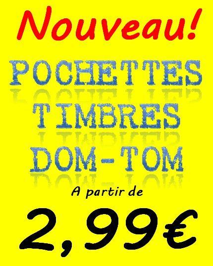 Timbres DOM-TOM en vente chez Philantologie.fr