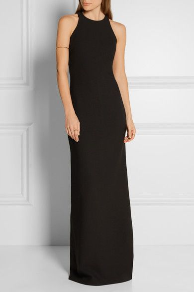 Elizabeth and James - Orley cutout stretch-ponte gown