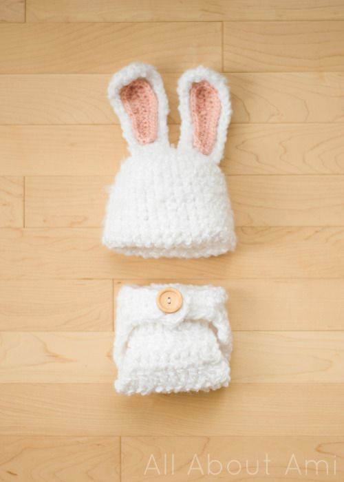 Fuzzy Baby Bunny Outfit | Pinterest | Crochet, Baby bunny outfit and ...