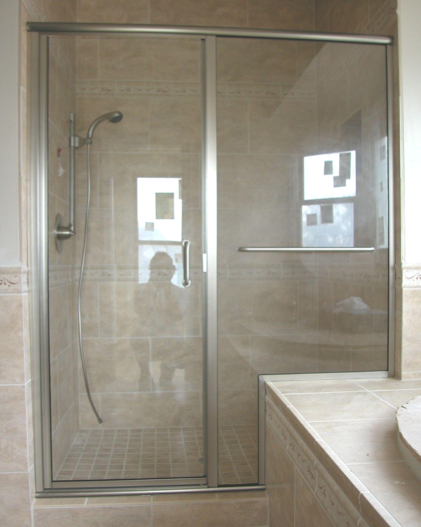 King Glass Shower Door Towel Bar Glass Doors Pinterest Shower