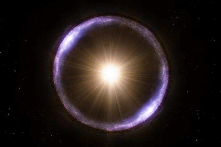 Einstein Ring: Astronomers Just Found Cosmic Golden Needle ...